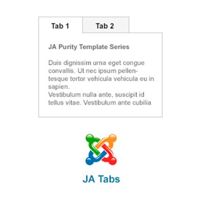JA Tabs
