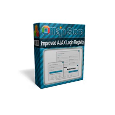 Improved AJAX Login & Register