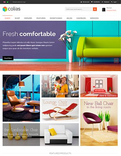 интернет магазин мебели скачать шаблон - фото 6