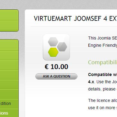 JoomSEF extensions PACK