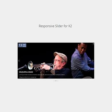 Responsive Slider for K2