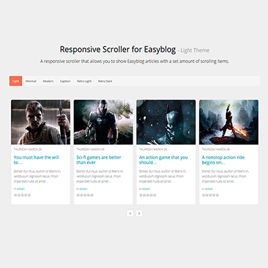 Responsive Scroller for EasyBlog
