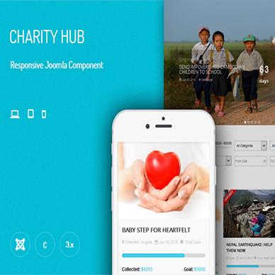 JUX Charity Hub