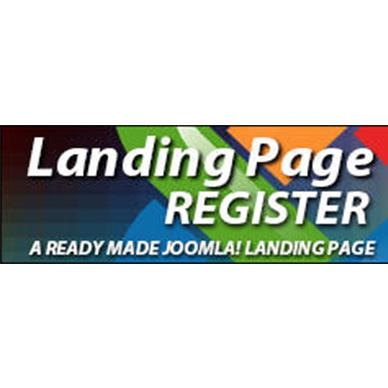 Landing Page Register