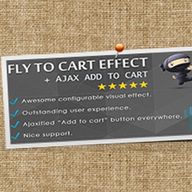 WooCommerce Fly to Cart Effect