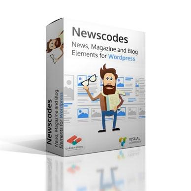 Newscodes News Magazine and Blog Elements