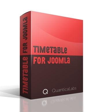 Timetable For Joomla