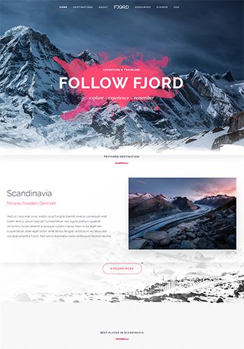 YOO Fjord Website