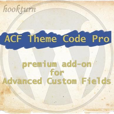 ACF Theme Code Pro