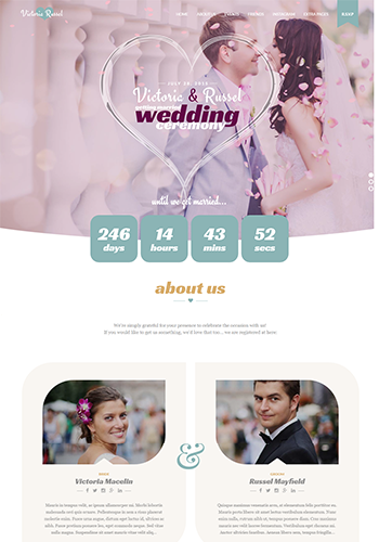 TZ Fuchsia Wedding