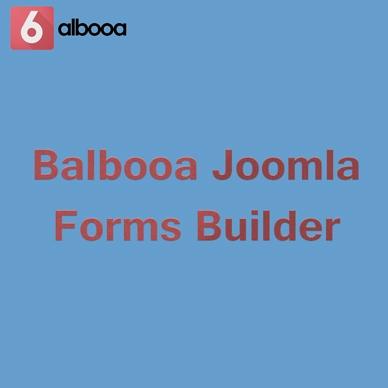 Balbooa Joomla Forms Builder