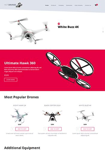 Hot Drones