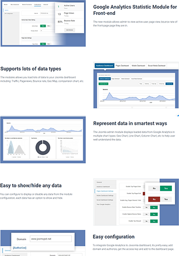 JA Google Analytics