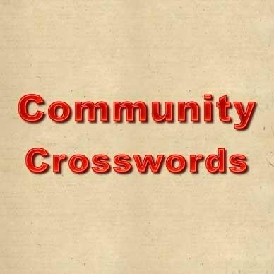 Community Crosswords