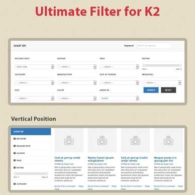 Sj K2 Filter