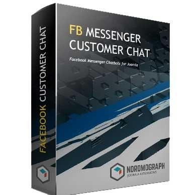 Facebook Messenger Customer Chat Module