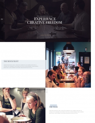 Lily | One Page Restaurant