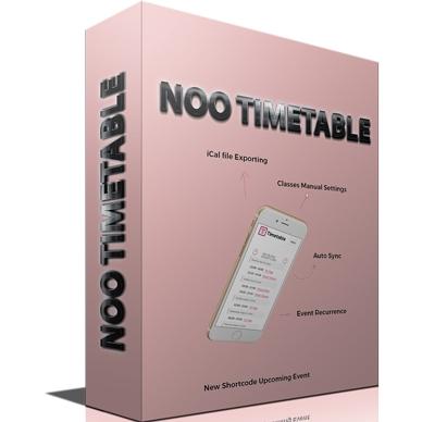 Noo Timetable