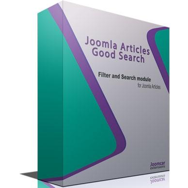 Joomla Articles Good Search