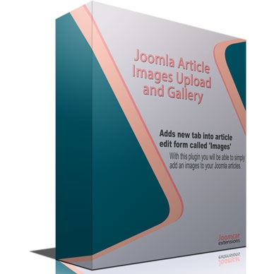 Joomla Article Images Upload and Gallery