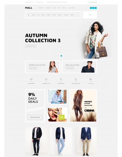 Mall for Wordpress